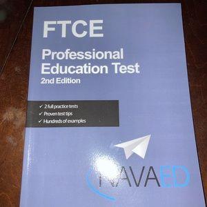 NAVAEd professional educator exam book NEW